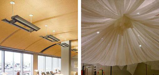 Primeri spuštenih plafona
