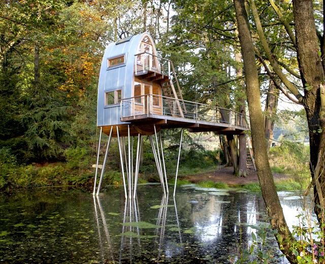 Solling kućica na drvetu je san na jezeru u Nemačkoj - Gradjevinarstvo.rs