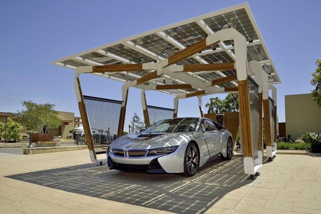 Solarna garaža kompanije BMW - Gradjevinarstvo.rs