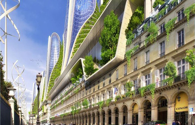 2050 Paris Smart City - Vincent Callebaut Architectures
