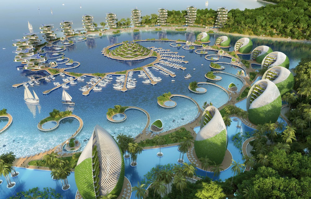 Nautilus Eco-Resort - Vincent Callebaut Architectures