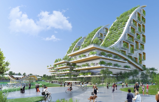 Tour & Taxis - Vincent Callebaut Architectures