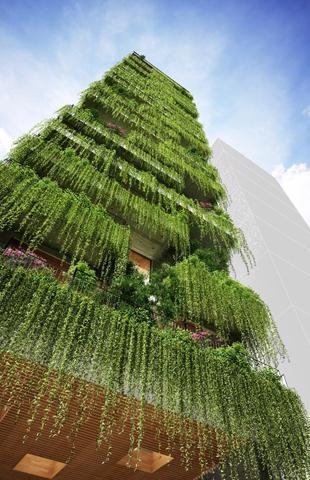 """""""Zelena""""Arhitektura Hotel%20prekriven%20bujnim%20zelenilom%20u%20Vijetnamu-1807-2"""
