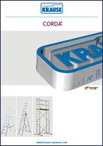 ADAM - Aluminijumske merdevine CORDA