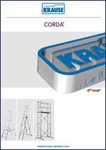 KRAUSE - Aluminijumske merdevine CORDA