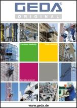 Unimast - Katalog GEDA