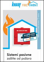 Brošura Knauf-FireWin zaštita od požara
