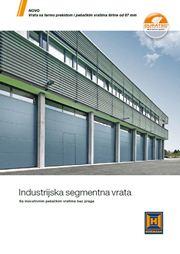 Hormann industrijska segmentna vrata