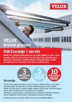 Održavanje VELUX krovnih prozora