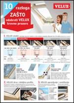10 razloga zašto odabrati VELUX prozore