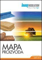 Knauf Insulation - Mapa proizvoda