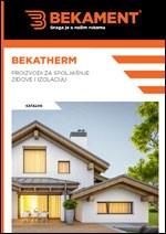 Bekatherm katalog - Proizvodi za spoljašnje zidove i izolaciju