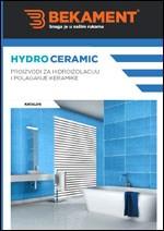 Hydro Ceramic katalog - Proizvodi za hidroizolaciju i polaganje keramike