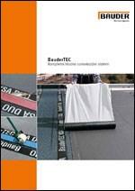 Bauder - TEC - hladno samolepljivi sistem