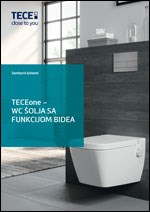 Katalog TECEone WC šolja sa funkcijom bidea