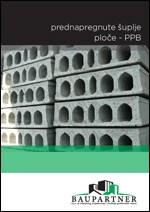 Baupartner - Prednapregnute šuplje ploče PPB