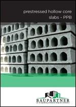 Baupartner - Prednapregnute šuplje ploče PPB - ENG