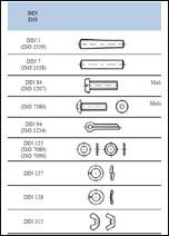 Inter-metal system-Katalog- standardni vijci