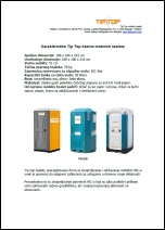 Tip-Top mobilni toaleti - Katalog