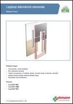 Lohmann - Lepljenje dekorativnih elemenata