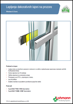 Lohmann - Lepljenje dekorativnih lajsni na prozore
