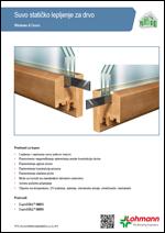 Lohmann - Suvo statičko lepljenje za drvo