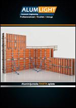 Alumlight-Aluminijumska zidna oplata RASTA