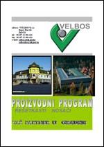 VELBOS - Katalog armaturnih nosača