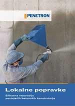 Penetron - Lokalne popravke