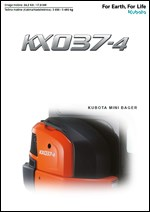 Milurovic Komerc-Mini bager KX037-4