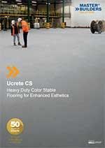 Master Builders Solutions - Ucrete CS podni sistem
