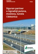 Lafarge siguran partner u izgradnji puteva, tunela, mostova i železnica
