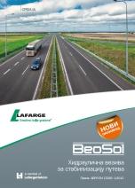 Lafarge-BeoSol portfolio proizvoda za stabilizaciju puteva