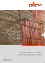 RÖFIX smernice za sisteme unutrašnjih i spoljašnjih maltera