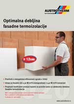 Austrotherm - Prospekt optimalna debljina fasadne termoizolacije