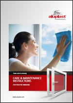 Aluplast-Održavanje i čišćenje