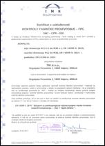 Sertifikati za vijke po standardu EN 14399-1 i EN 15048-1