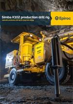 Epiroc - Hidraulična bušilica Simba K102