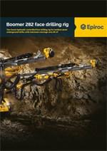 Epiroc - Horizontalna bušilica Boomer 282