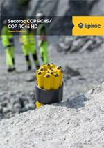Epiroc - Secoroc COP RC45