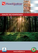Radijator Inženjering - Katalog 2016 - srpski