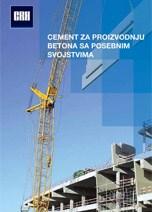 CRH-Cement za proizvodnju betona sa posebnim svojstvima