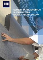CRH-Cement za proizvodnju suvih maltera i građevinskih lepkova