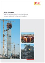 PERI Program - Racionalni sistemi oplata i skela za sve oblasti betonskih radova