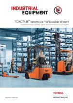 Industrijska oprema - TOYOTA BT oprema za manipulaciju teretom