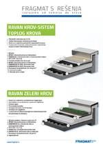 FRAGMAT S - Ravan krov - Sistem toplog krova