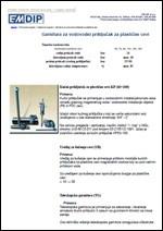 EM DIP - Vodovodne armature za PVC i čelične cevi