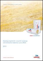 Katalog toplotnih i zvučnih izolacija od mineralne staklene vune URSA
