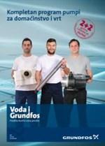 Grundfos - Program pumpi za domaćinstvo i vrt