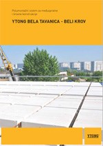 Xella-YTONG Bela tavanica-beli krov